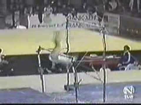 Marilena Neacsu 1978 Worlds Team Finals Uneven Bars