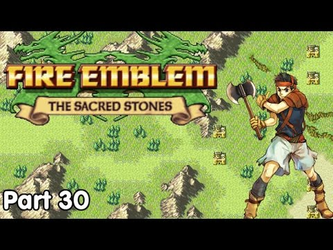 Slim Plays Fire Emblem: The Sacred Stones - #30. Canyon Chaos