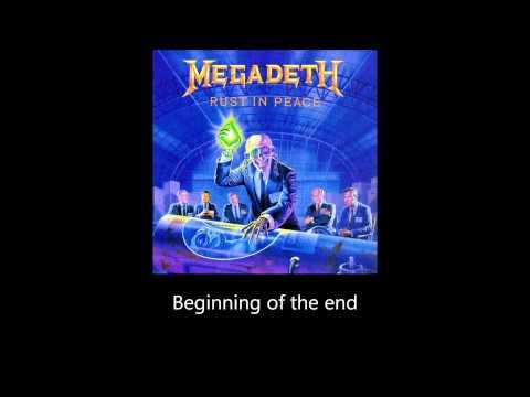 Megadeth - Take No Prisoners (Lyrics)