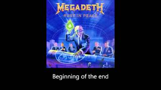 Megadeth - Take No Prisoners (Lyrics)