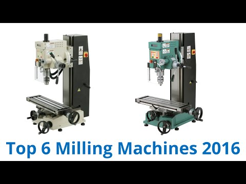 6 Best Milling Machines 2016