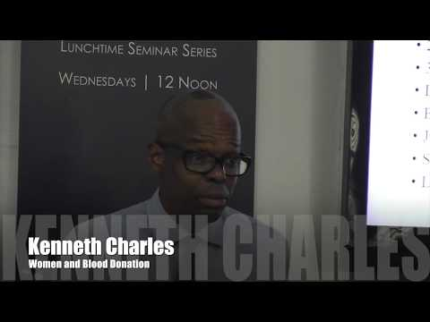IGDS Lunchtime Seminar — Dr Kenneth Charles