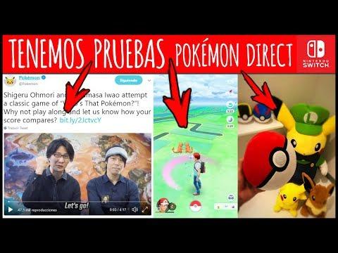 POKÉMON DIRECT este MAYO con PRUEBAS - Let's Go Pikachu / Eevee