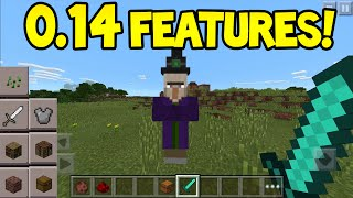 Minecraft Pocket Edition - 0.14.0 Update! - WITCHES Confirmed
