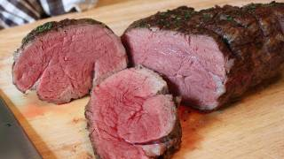 Roast Tenderloin of Beef - New Year