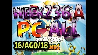 Angry Birds Friends Tournament All Levels Week 326-A PC Highscore POWER-UP walkthrough