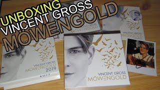 Vincent Gross Möwengold Fanbox Unboxing Opening limitierte Deluxe Box