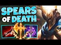 MOST BROKEN MID LANER OF S9?! LETHALITY PANTHEON MID IS STUPID - League of Legends