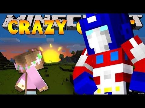 Minecraft Crazy Craft 3.0 : TRANSFORMER ARMOUR! #3
