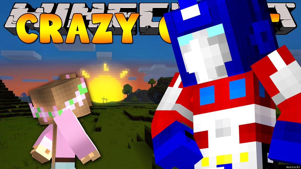 Minecraft crazy craft 3 0 transformer armour 3 youtube for Crazy craft 3 0 server