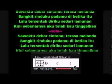 Iklim - Hakikat Sebuah Sebuah Cinta dgn Kord + Lirik.flv