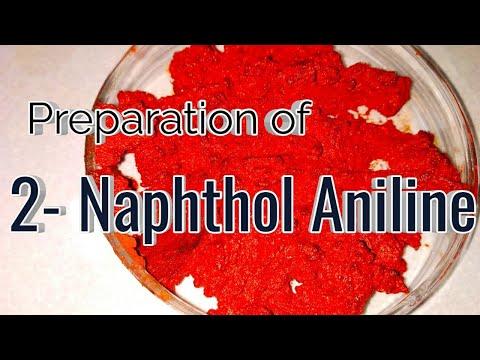 Preparation of Phenyl azo-beta naphthol ( 2-naphthol aniline dye ) NCERT guide