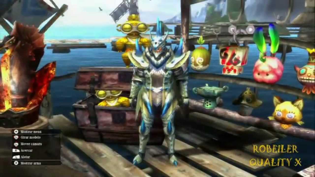 Monster hunter ultimate wii u serie lagiacrus armor