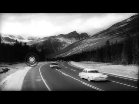 Opening of the Trans-Canada Highway July 30th 1962