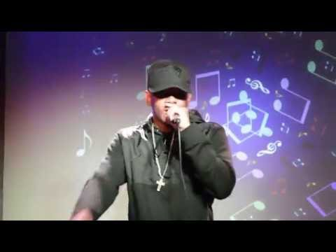 Gmcee performing at LimeLight Show Case