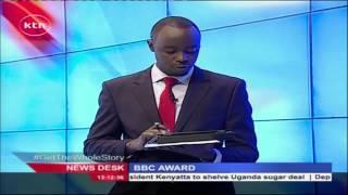 Nancy Kacungira wins first BBC World News Komla Dumor Award