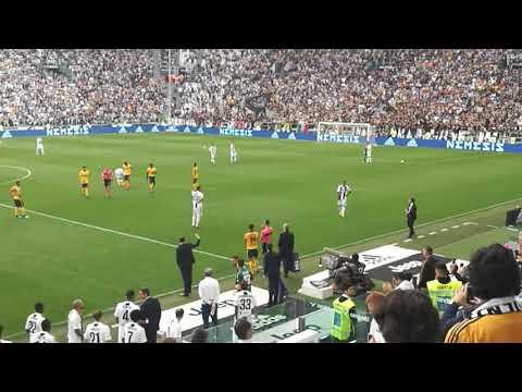 Juventus vs verona. Perpisahan gianluigi buffon, 2001/2018