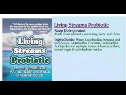 Living Streams Probiotics 2 of 2