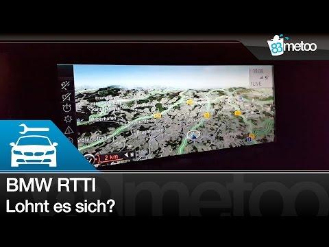 Lohnt BMW RTTI? BMW ConnectedDrive RTTI - Real Time Traffic Information - 83metoo