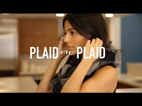 Plaid Party! How To Wear Plaid Part 2 | Fashion, Outfit Ideas, + Styling Tips | Teni Panosian thumbnail