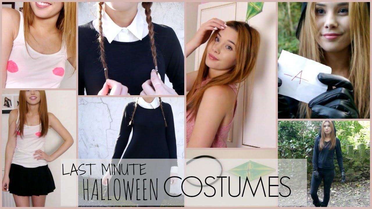 Costume Halloween Regina.Last Minute Halloween Costumes Sims Regina George More