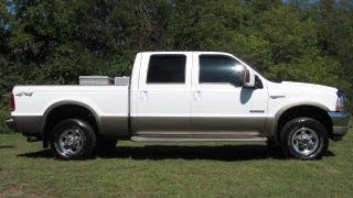 SOLD..2004 FORD F-250 CREW CAB KING RANCH 4X4 6.0 DIESEL 6.0   FORD OF MURFREESBORO, TN 888-439-1265