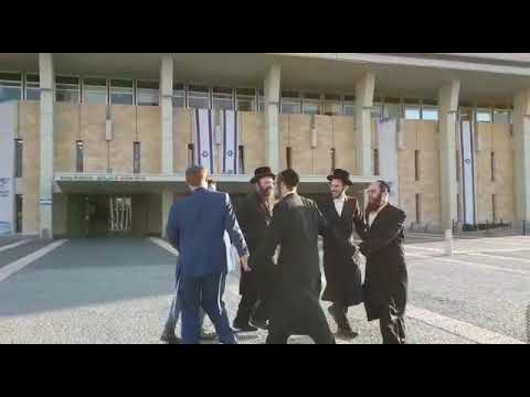 MK Glick dances near Knesset after announcing his engagement