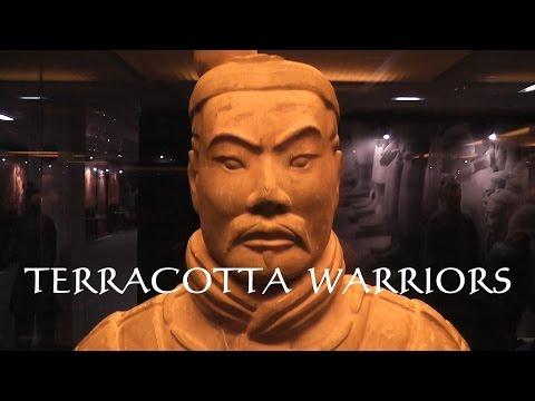 Terracotta Warriors, exhibition 兵马俑 [HD]