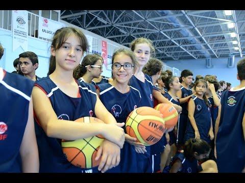 Uluslararas� basketbol e�itim kamp�nda 180 dev adam