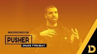 """Drake Type Beat 2018 """"Pusher"""" -  Hard Hip Hop Instrumental by DopeBoyzMuzic"""