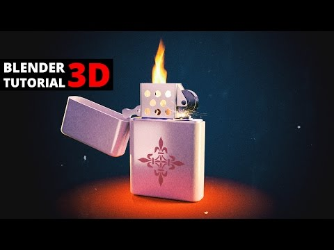 Blender tutorial: lighter