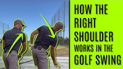 GOLF: How The Right Shoulder Works In The Golf Swing