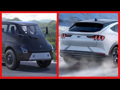 Fords new electric Mustang VS Tesla