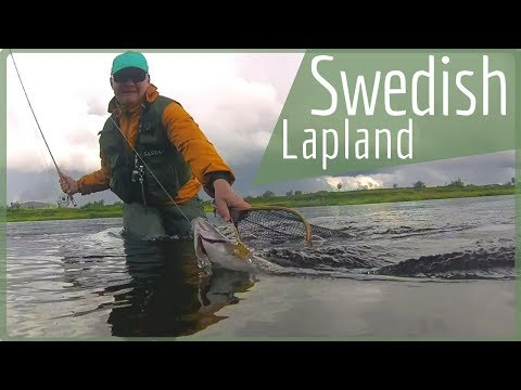 Swedish Lapland Fishing - Fly Fishing Sweden in Lainio [Part 1]