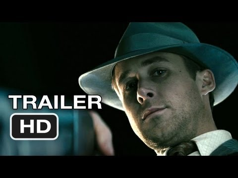 Gangster Squad Official Trailer #1 (2012) Ryan Gosling, Emma Stone Movie HD