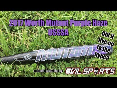 2017 Worth Mutant Purple Haze USSSA