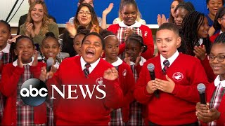 Middle school choir whose 'Rise Up' performance went viral gets surprise from Andra Day