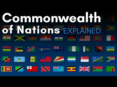 The Queen's 54 Countries: Commonwealth of Nations Explained