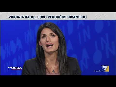 Virginia Raggi ospite a InOnda su La7 il 03/09/2020