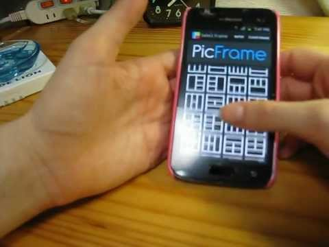 How To Use PicFrame For Android