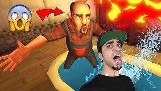 مقالب في الجار النفسية Scary Neighbor 3D !! 😈🔥
