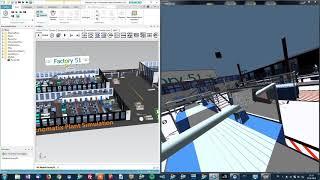moreViz HMD VivePro NX, Plant Simulation, Process Simulate: VR Virtual Reality Plugin Tutorial