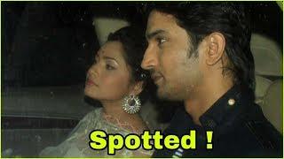 Ex couple Sushant Singh Rajput and Ankita Lokhande spoppted celebrating diwali together |Shocking