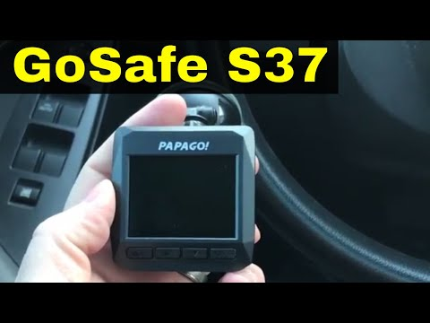 Papago GoSafe S37 Dash Cam Review-720p Or 1080p With Motion Detection