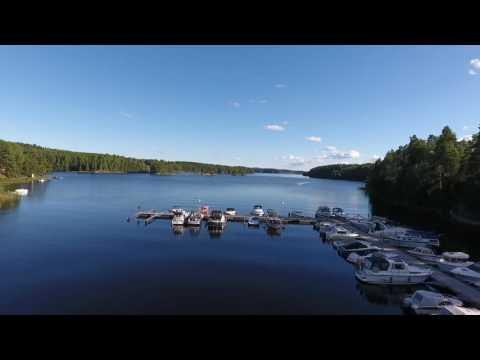 DJI Phantom 4 drone - a short film with beautiful Swedish nature (HD-1080p)