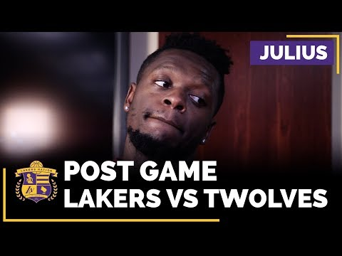 Julius Randle Says 'Little Things' Are Killing The Lakers Right Now