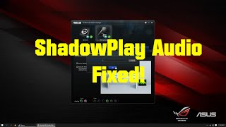 Fix shadowplay mic recording issues