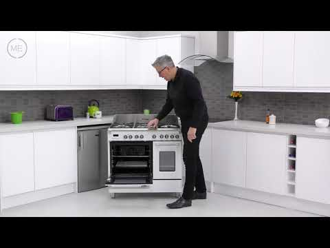 DeLonghi DVTR906DFWH 90cm Dual Fuel Range Cooker Review