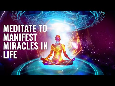 Meditate to Manifest Miracles in Life: Connect To the Source, Binaural Beats | 963 Hz God Frequency