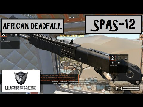Warface - GAMEPLAY COOP NORMAL - AFRICAN DEADFALL - SPAS-12 (LEVEL UP) 820M